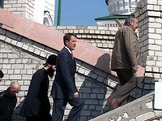 Губернатор Алексей Гордеев посетил Благовещенский собор