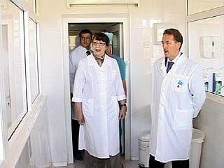 Губернатор Алексей Гордеев посетил Областную клиническую больницу