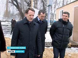 Губернатор Алексей Гордеев посетил один из самых отстающих районов области