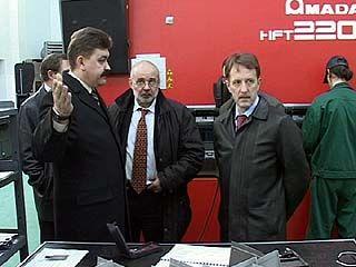 Губернатор Алексей Гордеев посетил в рабочем порядке ВАСО