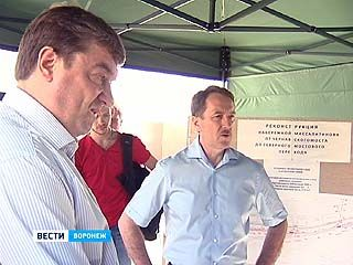 Губернатор Алексей Гордеев проверил, как идут работы на набережной Массалитинова