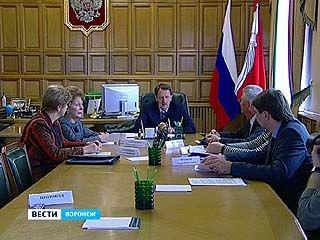 Губернатор Алексей Гордеев провёл специальное совещание