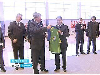 Губернатор Алексей Гордеев с рабочей поездкой побывал в Верхней Хаве