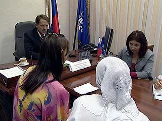Губернатор Алексей Гордеев вел прием в общественной приемной В.В.Путина