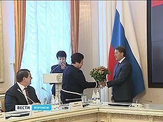 Губернатор Алексей Гордеев вручил государственные награды выдающимся воронежцам