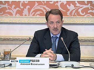 Губернатор Алексей Гордеев встретился с советом Воронежской облдумы