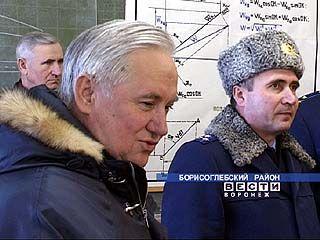 Губернатор Кулаков посетил Борисоглебск