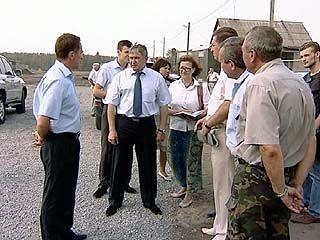Губернатор оценил ход восстановительных работ в Масловке