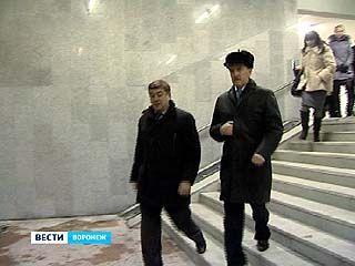 Губернатор оценил проделанный ремонт в переходе на Плехановской