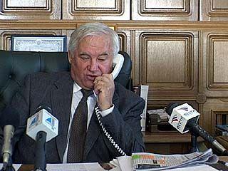 Губернатор ответил на вопросы журналистов