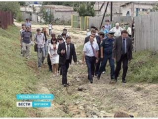 Губернатор побывал с инспекцией в трёх районах Воронежской области