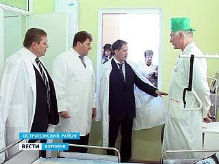 Губернатор побывал с рабочей поездкой в Острогожском и Каменском районах