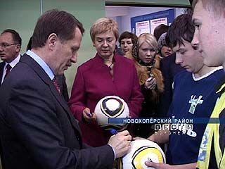 Губернатор побывал с рабочим визитом в Новохоперском районе