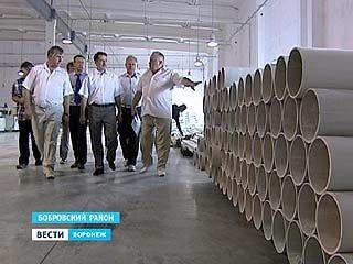 Губернатор побывал в Бобровском районе с инспекцией