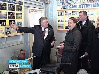 Губернатор побывал в Нововоронеже с рабочей поездкой