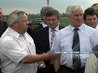 Губернатор посетил Кантемировский район