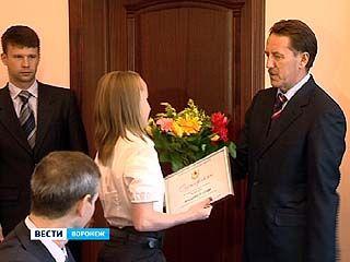 Губернатор поздравил воронежских гимнасток с победой на Чемпионате мира