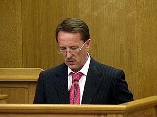 Губернатор представил депутатам облдумы отчет о работе правительства