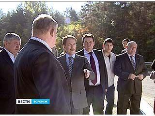 Губернатор проинспектировал работы по реконструкции дороги на Антонова-Овсеенко