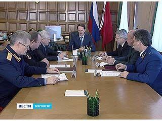 Губернатор провёл встречу с руководителями силовых структур региона