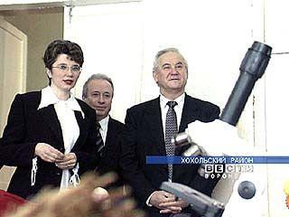 Губернатор Владимир Кулаков посетил Хохольский район