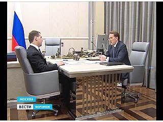 Губернатор Воронежского региона принял участие в заседании президиума