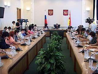 Губернатор Воронежской области встретился с журналистами