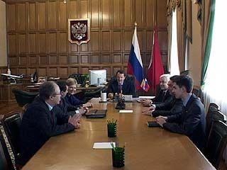 Губернатор встретился с главами отделений политических партий