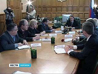 Губернатор встретился с лидерами отделений политических партий
