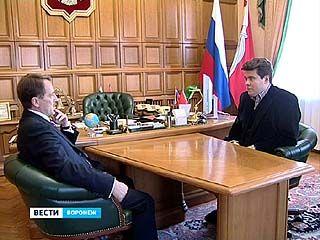Губернатор встретился с заслуженным артистом России Денисом Мацуевым