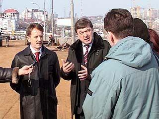 Губернатора Алексея Гордеева прокатили по воронежским дорогам