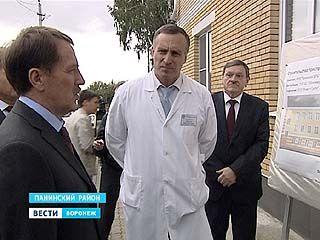 Губернатора удивили масштабы проекта расширения Панинской ЦРБ