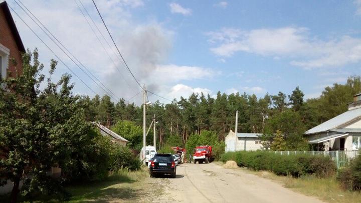 Спасатели озвучили подробности пожара в воронежском микрорайоне Отрожка