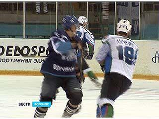 "Хоккейная команда ""Буран"" сразилась с краснодарской ""Кубанью"""