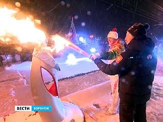 Хроника эстафеты олимпийского огня в Воронеже