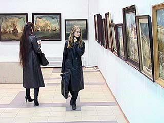 Художник Виктор Мириленко представил на суд воронежцев свои работы