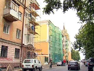 Инвестиционный форум ждать не будет: в Воронеже красят фасады