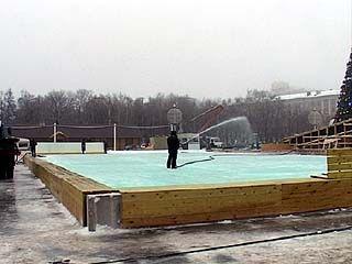 Искусственному льду - плюсовая температура не помеха