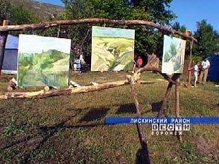 История Дивногорья отражена в произведениях искусства