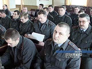 Итоги работы подводят милиционеры области
