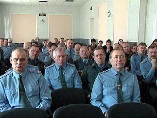 Итоги работы за 3 месяца подвели в ГУВД по Воронежской области