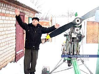 Иван Бобро сам строит летательные аппараты