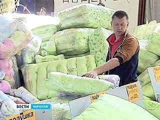 Ивановский текстиль снова привезли в Воронеж