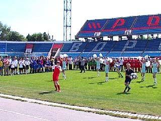 Из 225-ти детских футбольных команд в финал прошли 19