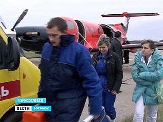 Из Борисоглебска в Воронеж был доставлен младенец с острой дыхательной недостаточностью