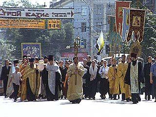 Из Воронежа отправится крестный ход