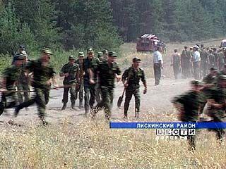 Из-за очередного пожара жителей села Духовое пришлось эвакуировать