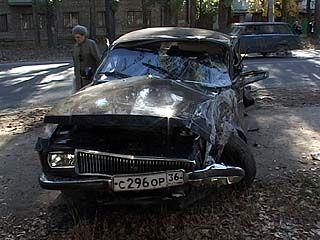 Из-за пьяного водителя пострадали трое воронежских милиционеров