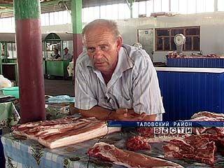 Из-за жары и засухи в области резко упали закупочные цены на мясо