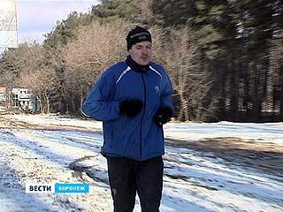 Известный спортсмен уже в Воронеже и рассказал, каково это - бежать из Москвы в Сочи
